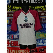 fb22e44a42f 4/5 West Ham United adults XL 1994 away retro pony football shirt jersey  trikot