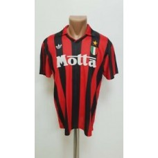 AC MILAN ITALY 1992/1993 HOME FOOTBALL SHIRT JERSEY ADIDAS VINTAGE SIZE M ADULT