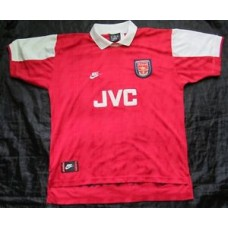 ARSENAL FC home retro shirt jersey NIKE 1995-96 JVC GUNNERS trikot adult SIZE XL