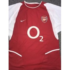 Arsenal Home Shirt 2002/04 Invincibles Small Rare And Vintage