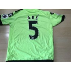 BOURNEMOUTH MATCH WORN SHIRT NATHAN AKÉ 21/08/16