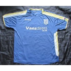 CARDIFF CITY home shirt jersey Joma 2008-2009 Wales The Bluebirds /adult SIZE XL
