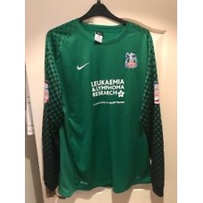 CRYSTAL PALACE MATCH PREPARED GOALKEEPER SHIRT 2012 No13 PRICE RARE
