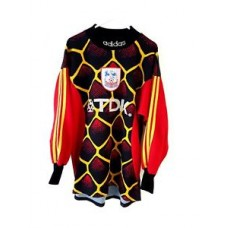 Crystal Palace Goalkeeper Shirt 1997. Adults Small. Adidas. Black Football Top S