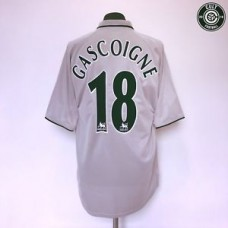 GASCOIGNE #18 Everton Vintage Retro Puma Away Football Shirt Jersey 2001/02 (L)