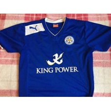 LEICESTER CITY FOOTBALL SHIRT WITH NUMBER 14 MC DONALD ON BACK