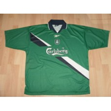 Liverpool 1999-2000 Reebok Away Shirt/ Carlsberg*xl 46-48*Retro Vintage Football