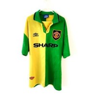 Manchester United 3rd Shirt 1992. Large. Umbro. Adults Man Utd Football Top Only