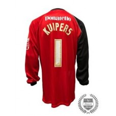 Match Worn Kuipers Brighton & Hove Albion Goalkeeper Football Shirt 2009/2011