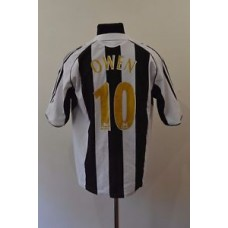 Newcastle United 2005/2006/2007 HOME FOOTBALL SHIRT JERSEY MAGLIA ADIDAS 10 OWEN