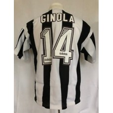 Newcastle United Football Shirt Home 1995-97 Ginola (Excellent) L Soccer Jersey