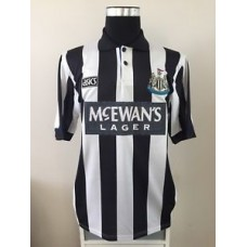 Newcastle United Home Football Shirt Jersey 1993-1995 (L)