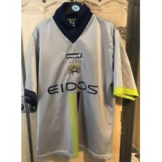 "OFFICIAL MANCHESTER CITY 00/02 Away Football Shirt Retro (38/40"")"