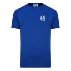 Official Retro Chelsea 1970 FA Cup Winners Retro Football Shirt 100% COTTON