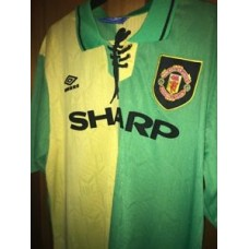 Retro Manchester United 1992-94 Medium Shirt Newton Heath Man Utd Jersey CANTONA