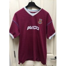 Retro West Ham Gareth Barry 70 Football Shirt AVCO Size Large