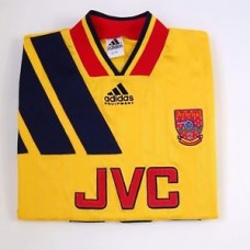 VINTAGE 90s Adidas ARSENAL 1993 - 94  FOOTBALL SHIRT JVC