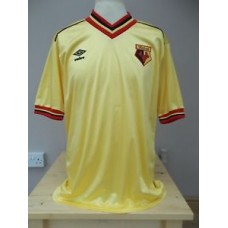 VINTAGE ORIGINAL UMBRO WATFORD SHIRT 1983 MENS LARGE XL