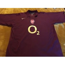 Vintage/retro Arsenal Football Shirt Size 3xl Xxxl Perfect Condtion