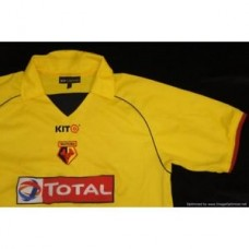 Watford 2004-05 @KIT Home Football Shirt LARGE