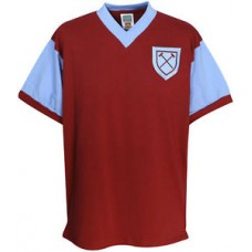 West Ham Utd 1958 No6 Retro Football Shirt Mens