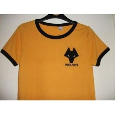 Wolverhampton Wanderers Size SMALL 1970s/80 Shirt/Wolves Football/Steve Bull/new
