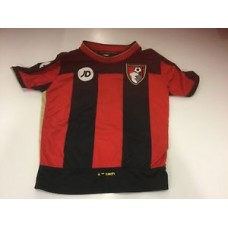 afc bournemouth home football shirt, kids age 2-3, low starting price 99p